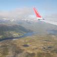 池とフィヨルド 氷河の爪痕