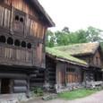 ノルウエー古代の建物