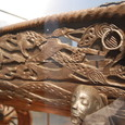 バイキング船 装飾物