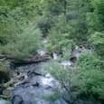 三平峠に向かう道