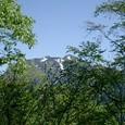 燧ヶ岳の頭を望む