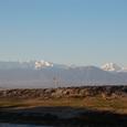 ヒエラポリスから眺める雪の山山