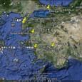 地中海とパムッカレ