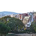バルセロナ市内を見下ろす