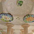 市場の天井モザイク
