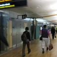 オスロ空港到着 夜の10時過ぎ