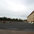プラハ城前の馬場