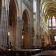 聖ヴィート教会 見事な柱列
