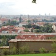 モルダウ(ヴルタヴァ)川とプラハの街
