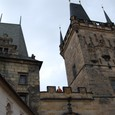 プラハ城 城門と衛士