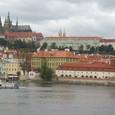モルダウ川とプラハ城