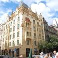 旧市庁舎広場からユダヤ街へ