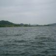 水量豊かな白馬江(錦江)