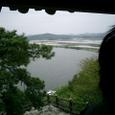落花岩から白馬江を見下ろす