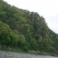 落花岩を眺める