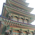 飛鳥時代の五重塔は日本でもこんな派手でしたかね
