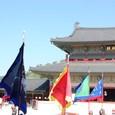 色彩鮮やかな旗