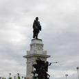 サミュエル・ド・シャンブラン像