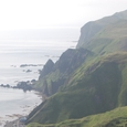 高さ50メータの地蔵岩