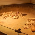 縄文時代 竪穴住居での葬送