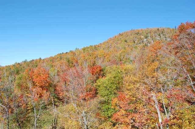 トランブラン山の紅葉