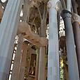 教会内の列柱