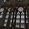 花模様の窓