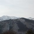 白山の山々