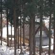 展望台からの下山道にて
