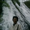 家内とジョウレンの滝