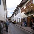 ペルー クスコの路地