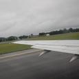 スタバンゲル空港離陸