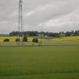 オスロ市内へ向かう 田園風景