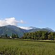 後立山の山々
