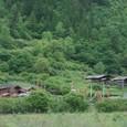九寨溝 チベット族の村落
