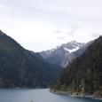 長海より九寨溝 標高4千メータの山々