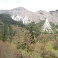長海を取り囲む山々