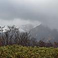 赤城山も富士山も見えない