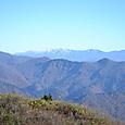 朝日岳の方角