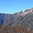 谷川岳 三国峠への稜線