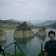 島潭三峰は絶景