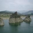 島潭三峰 丹陽八景