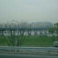 漢江にでた ソウルだ