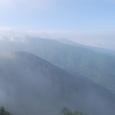 霧が消えて行く