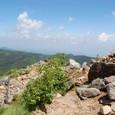 稜線ルート中山峠ルート分岐