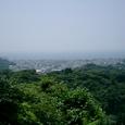 勝上けん(しょうじょうけん)山頂の展望台