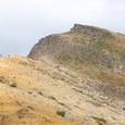 馬ノ背稜線を歩く登山者達