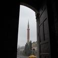 帝王の門より眺めるアヤソフィア