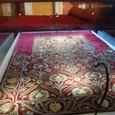 謁見の間 絨毯