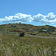 トラコローラ谷 此処の丘も遺跡です